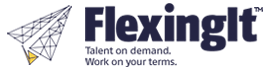 Flexing It™ Logo- Airplane