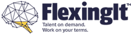 Flexing It™ Logo- Brain